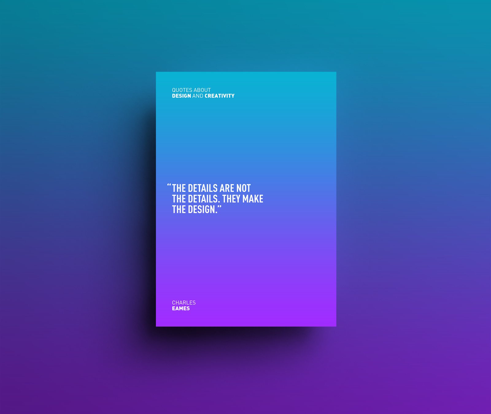 design and creativity quotes on behance