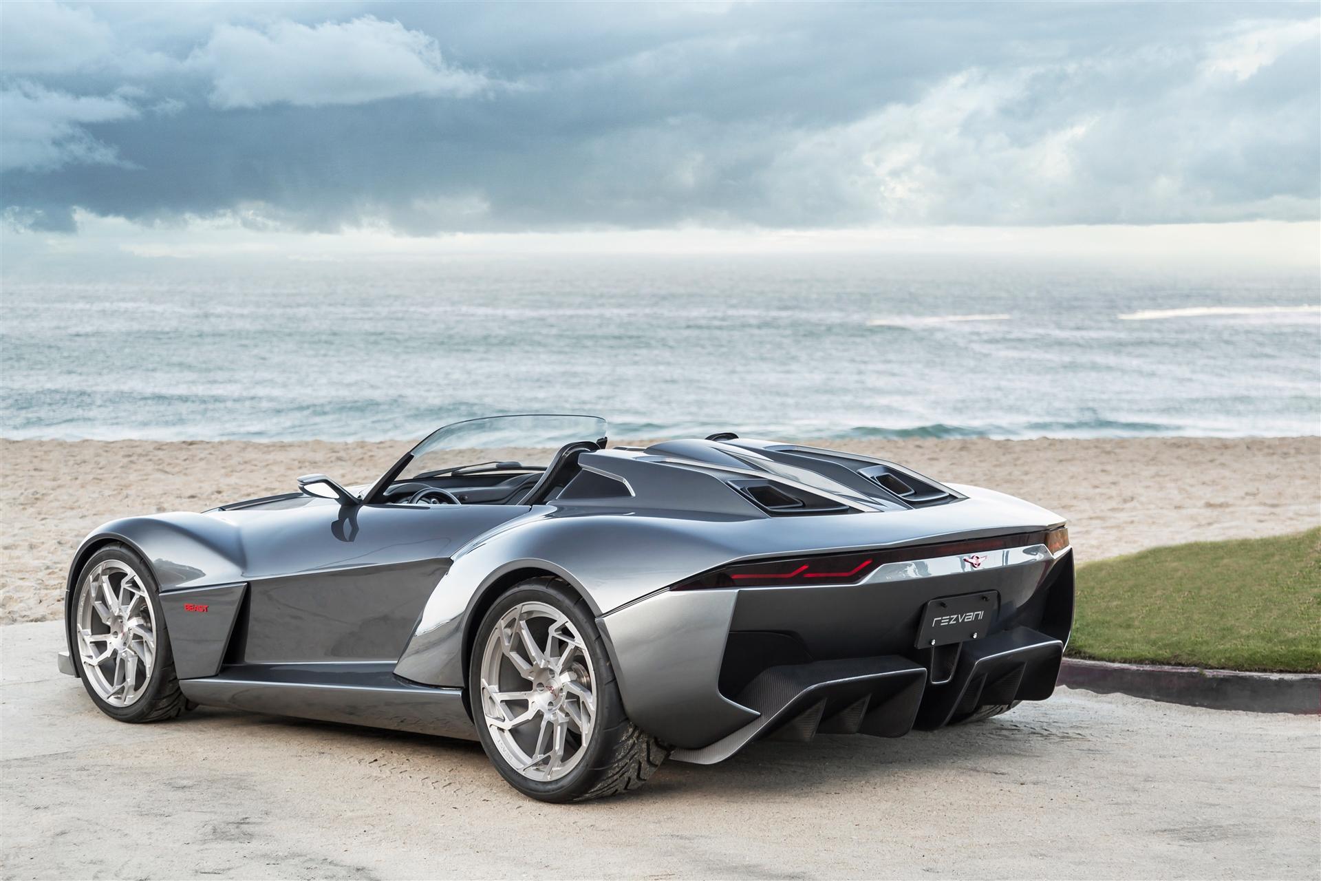 спортивный автомобиль серый rezvani motors бесплатно