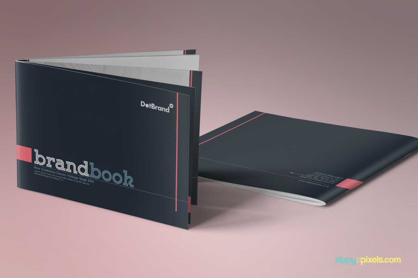 The Classic – Branding Guidelines Template on Behance