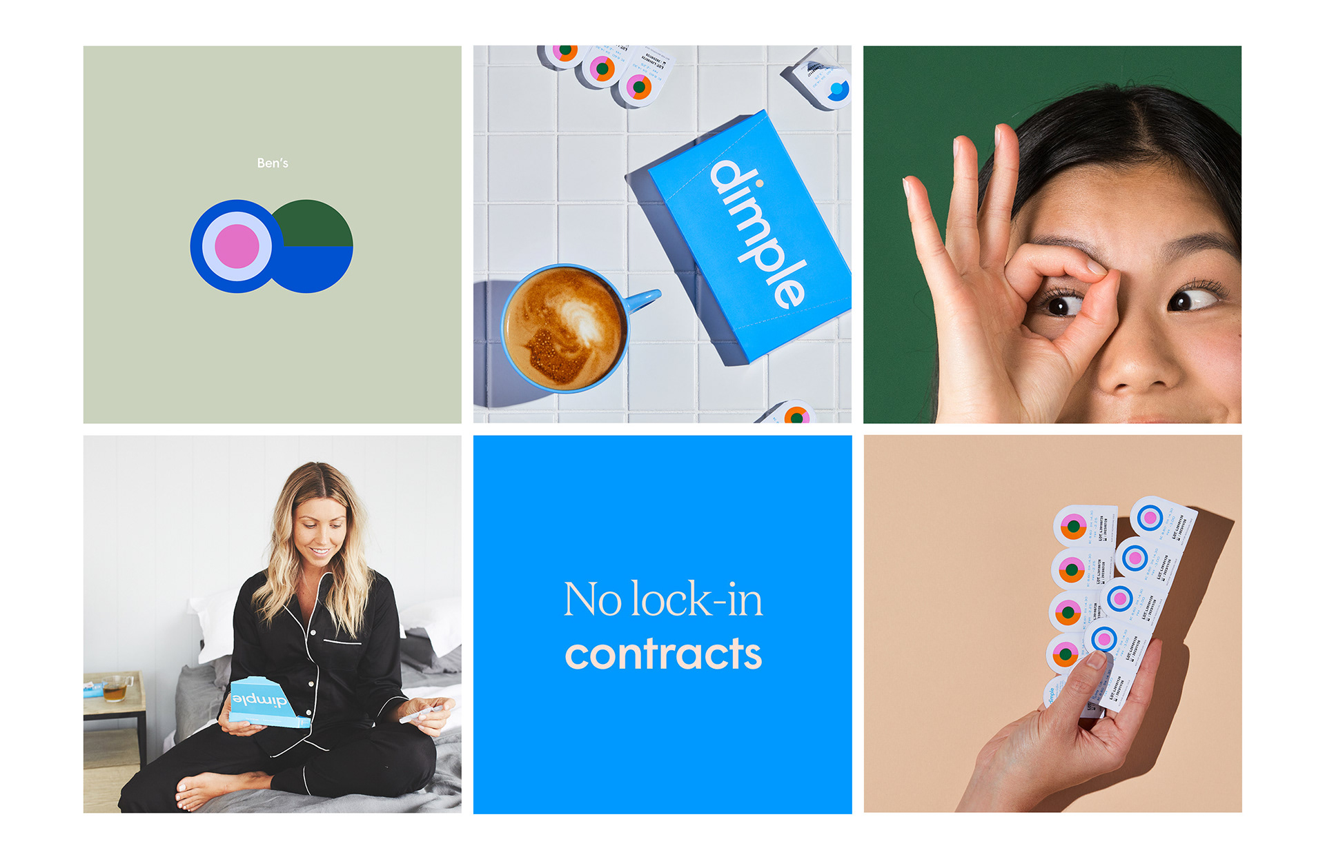 Dimple - A clear vision for change on Behance