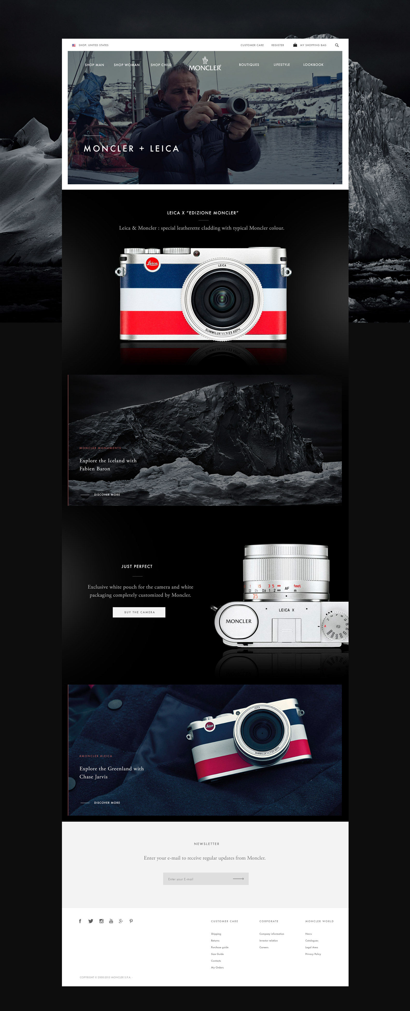 moncler corporate website