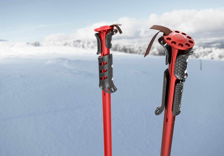 Antonio Meze Product Design And Development Ski Pole Concept