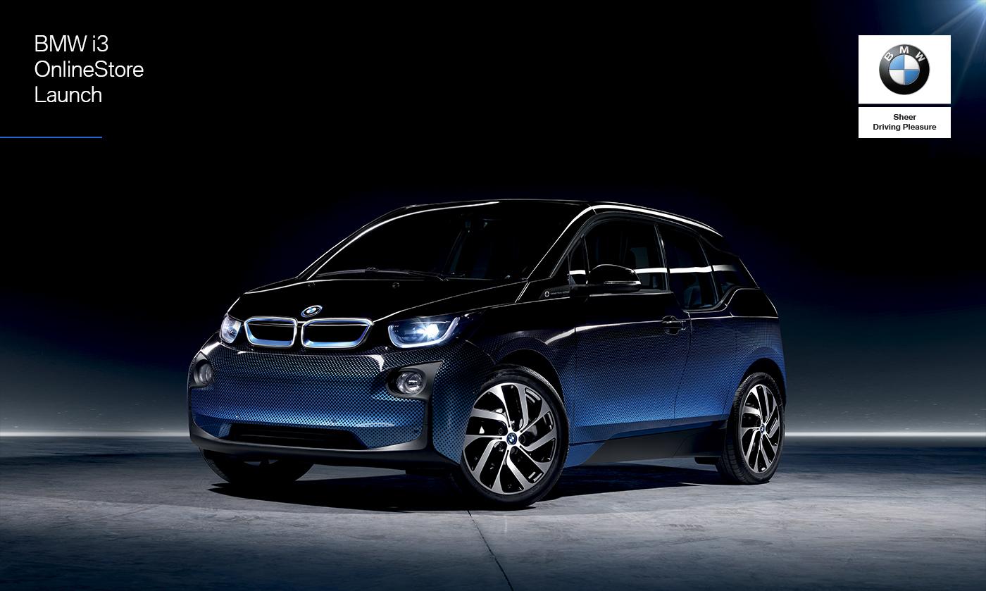 c597cf01 BMW i3 OnlineStore Launch on Behance
