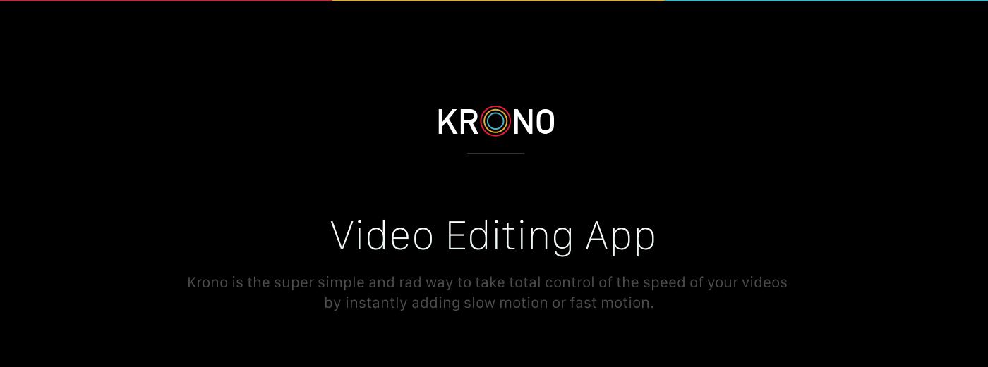 Krono Video App on Behance