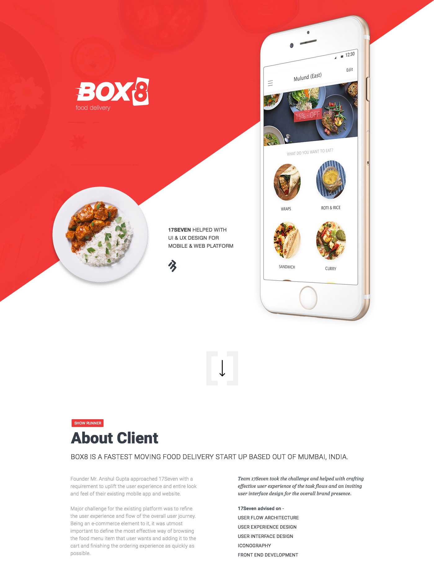Box8 food ordering delivery app uiux design on behance forumfinder Gallery