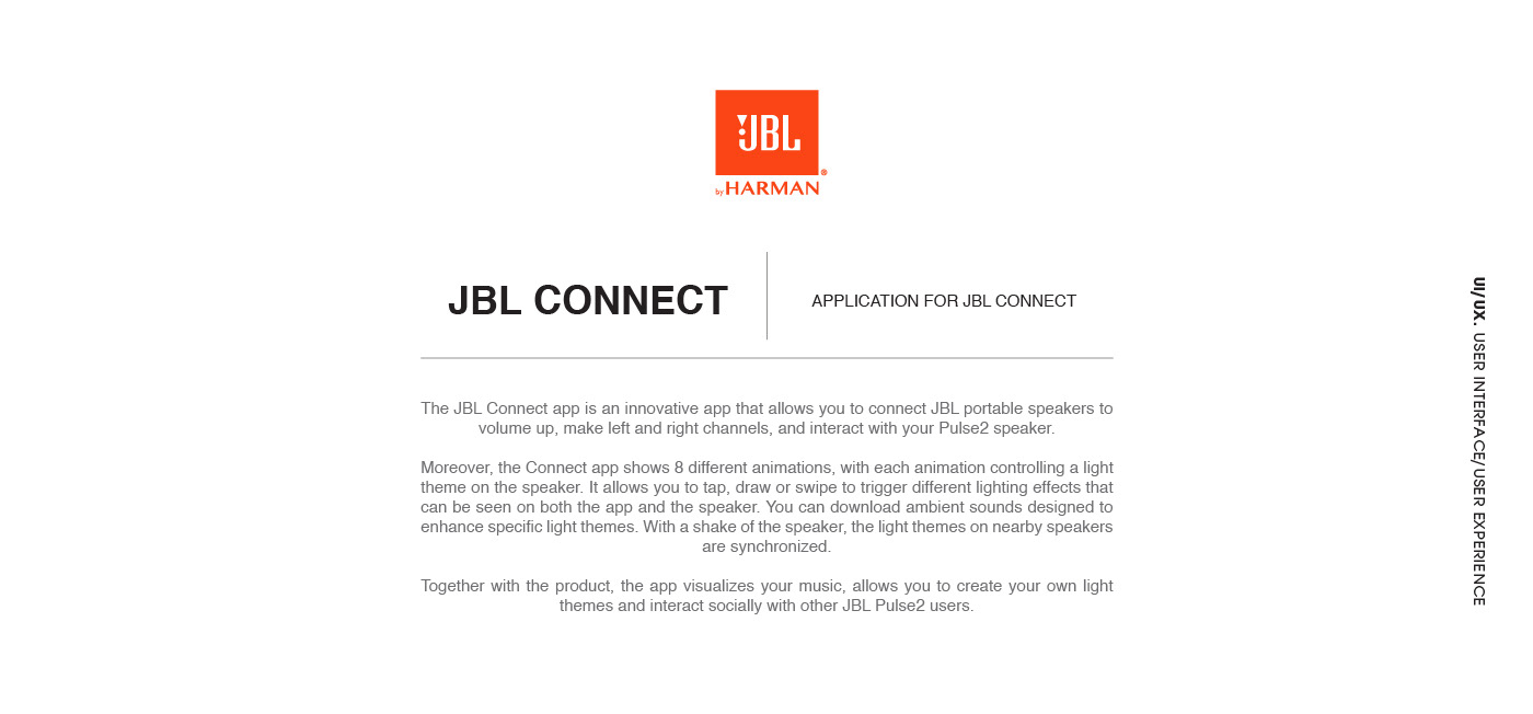 JBL CONNECT on Behance