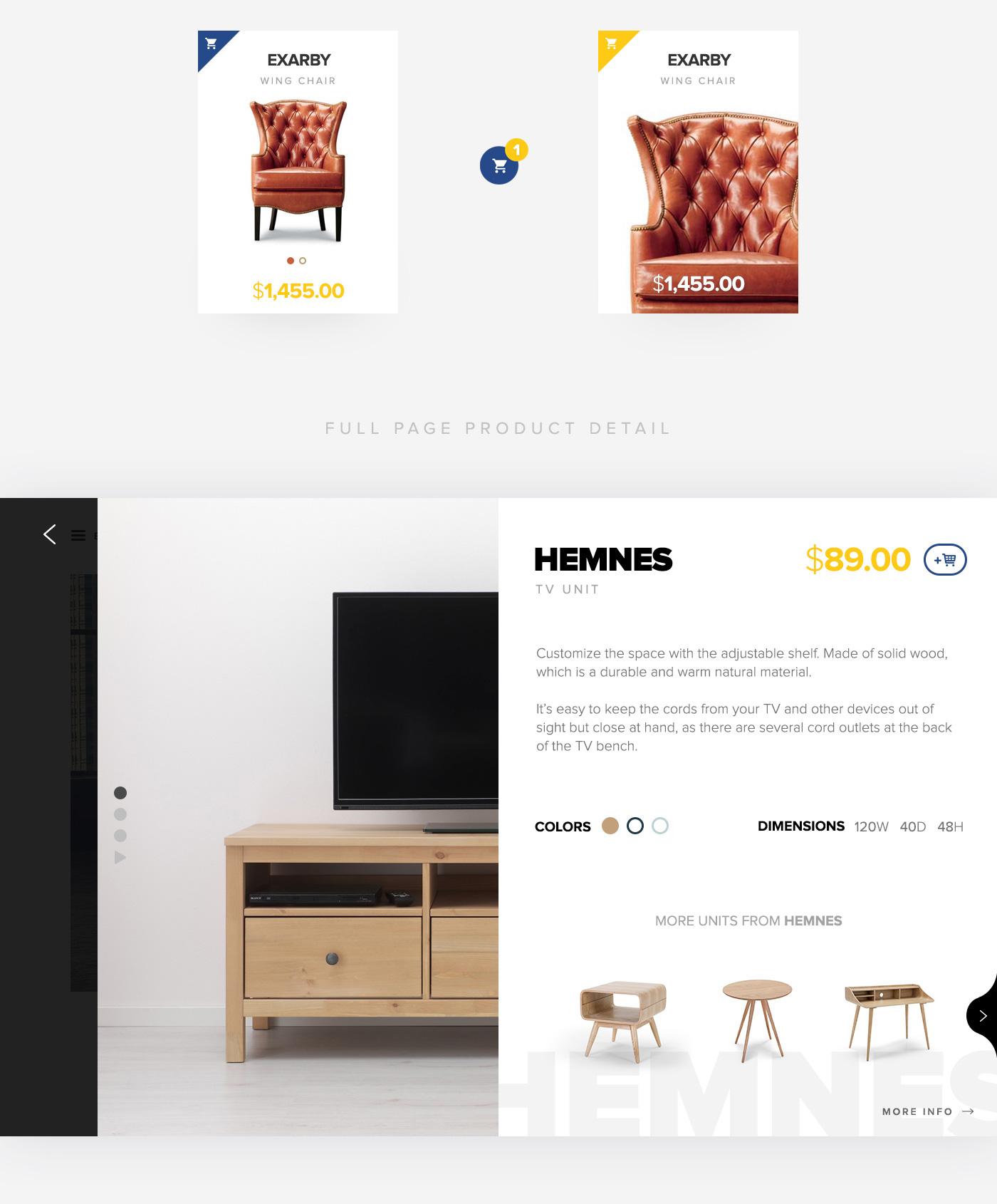ikea furniture website design decoration