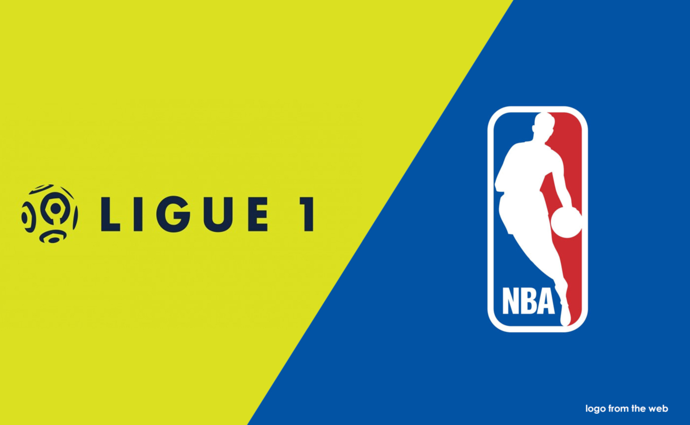 French Ligue 1 Logos X Nba Style On Behance