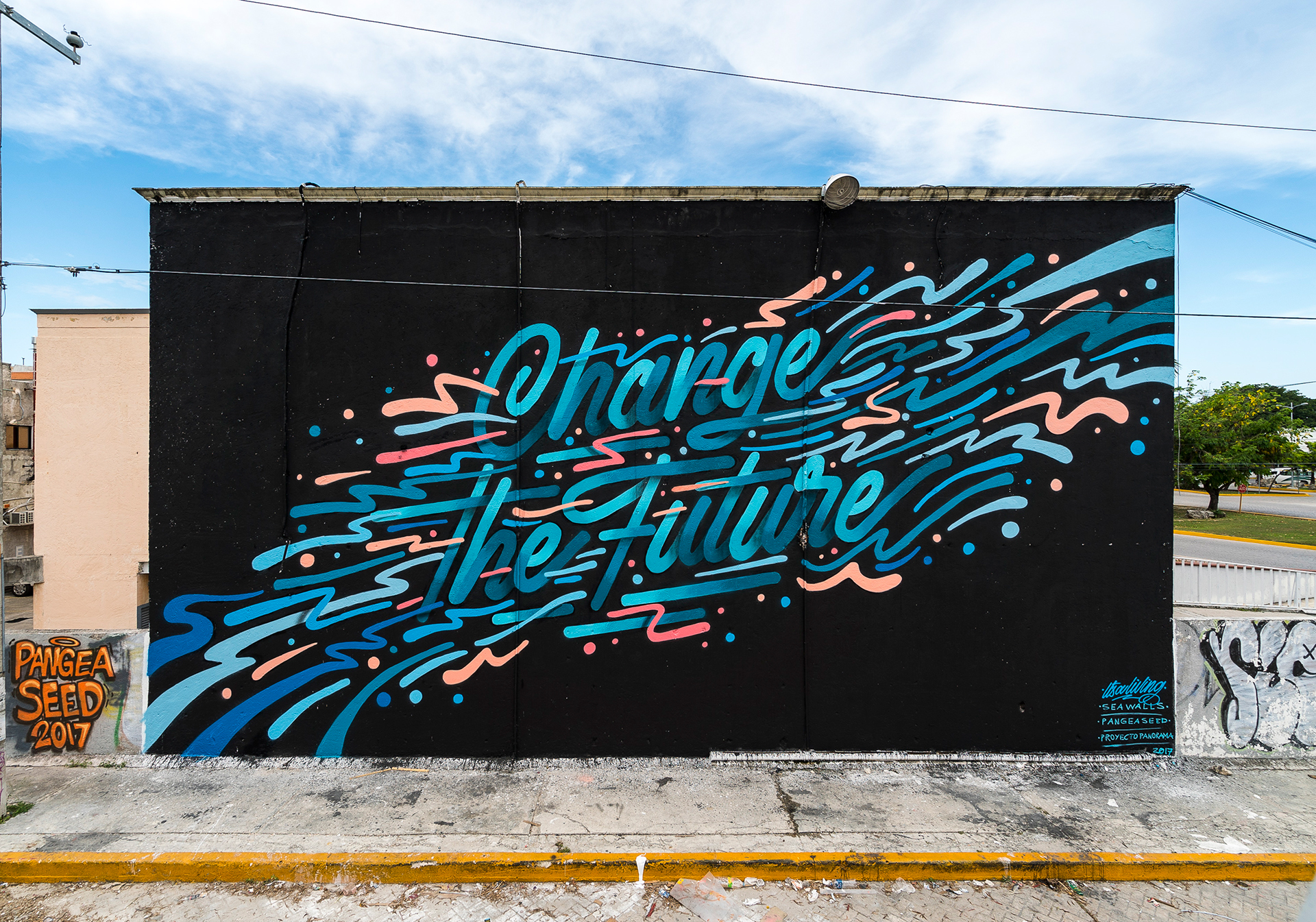Street Art & Illustration: Seawalls Mural