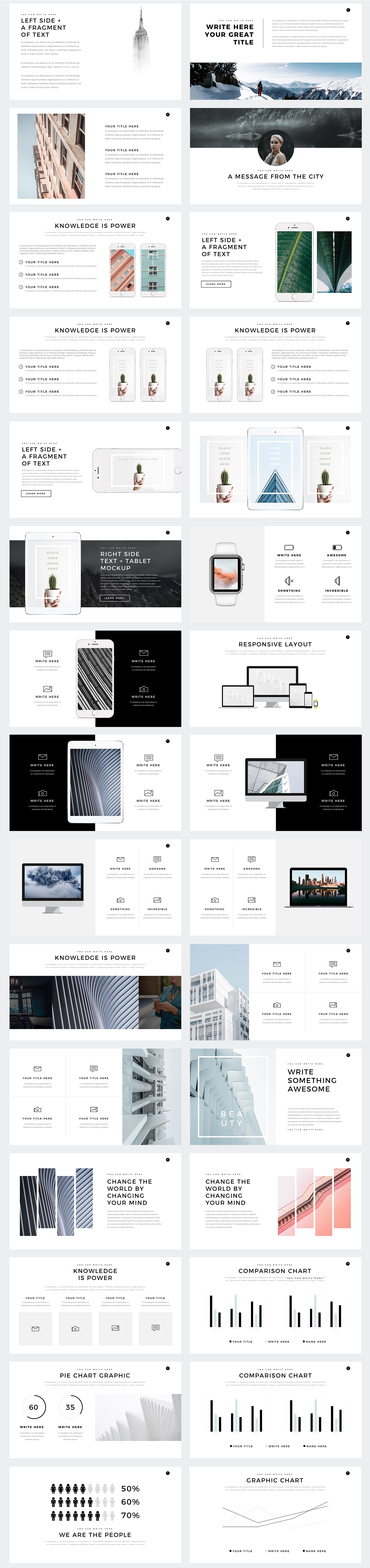 Starlight minimal powerpoint template pitch deck on behance starlight minimal powerpoint template pitch deck toneelgroepblik Choice Image