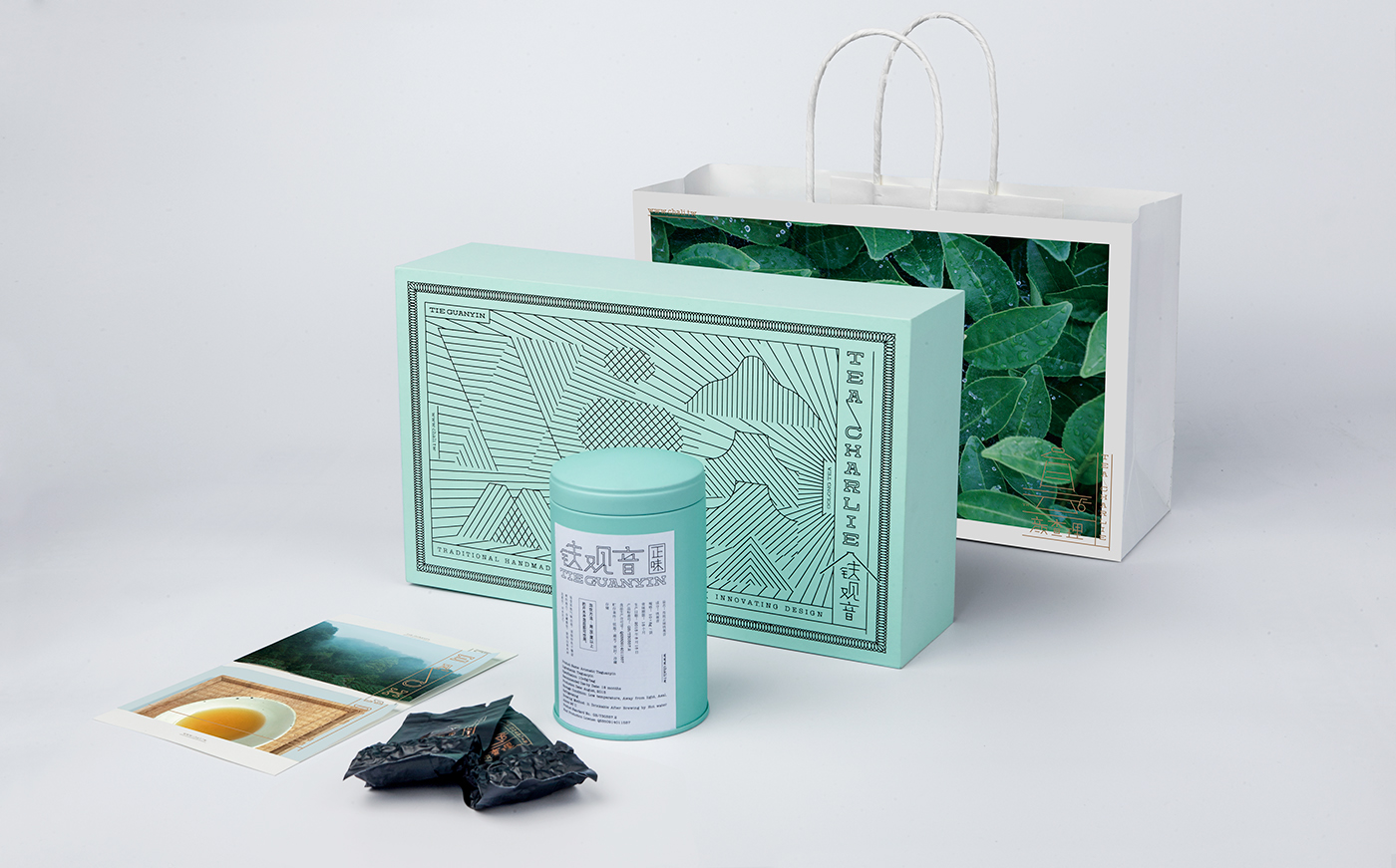 Tea Charlie logo & package design on Behance