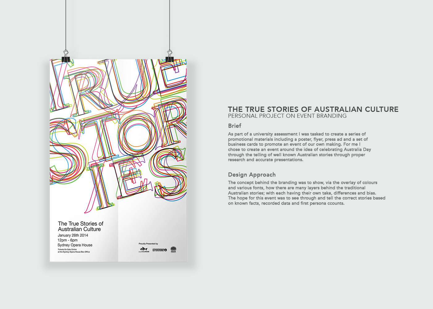 True stories event branding on behance thank you reheart Images