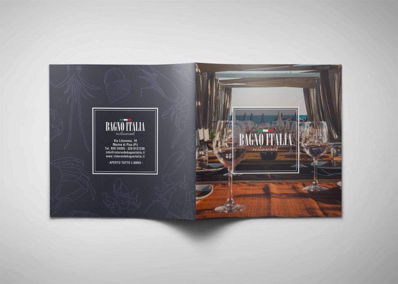 Ristorante Bagno Italia Marina Di Pisa : Bagno italia restaurant brochure on behance
