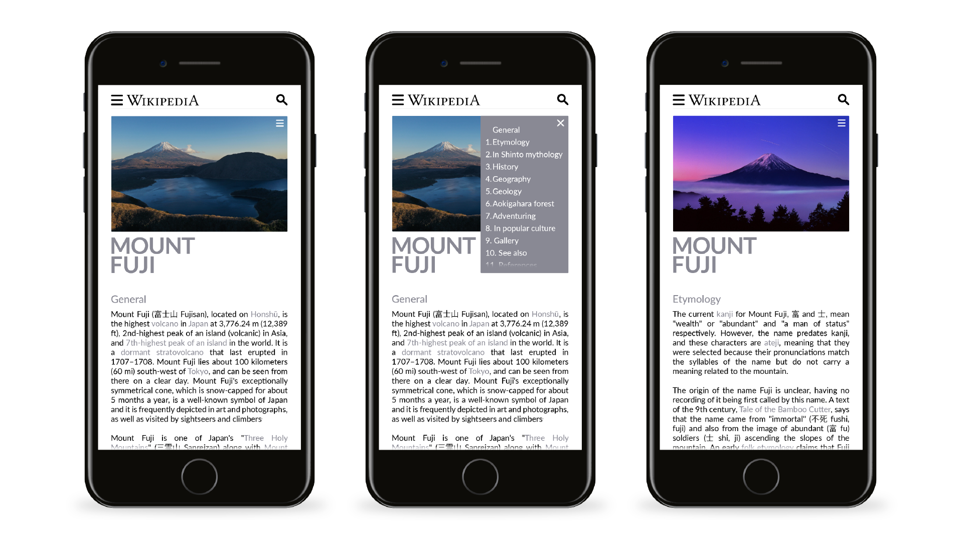 Wikipedia Redesign on Behance