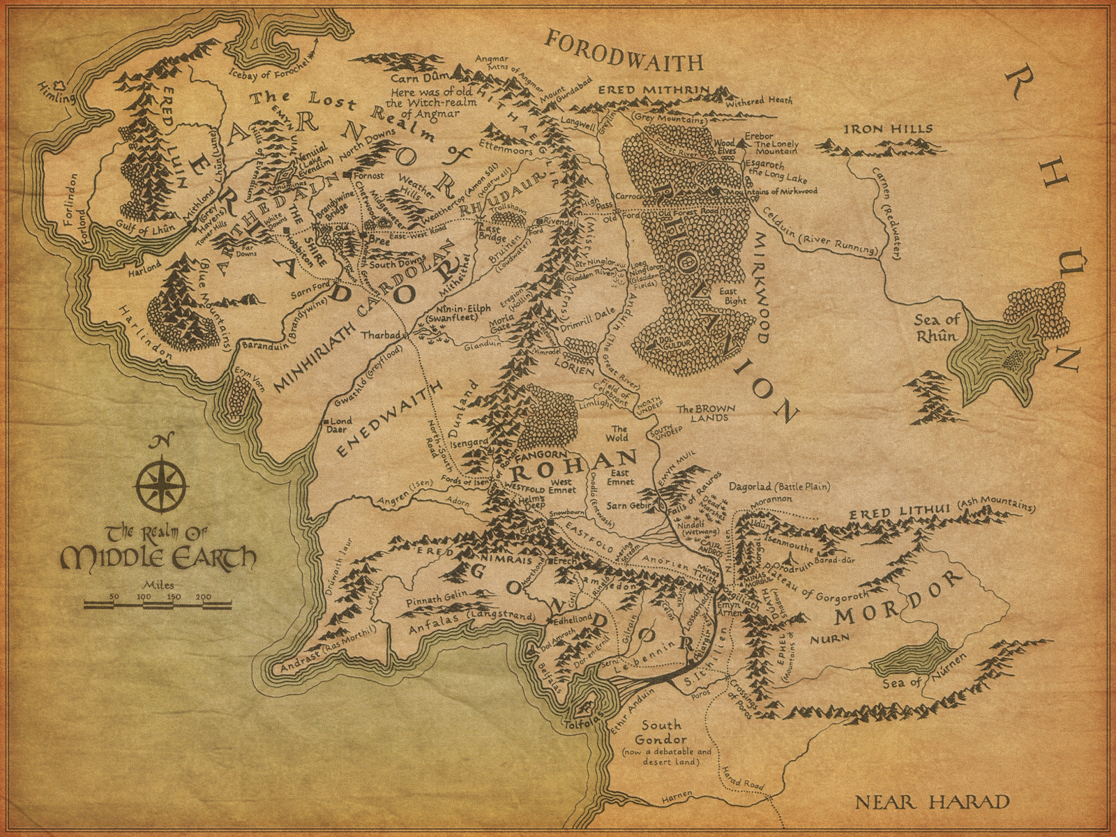 Tom Ianello - Google Map of Middle Earth
