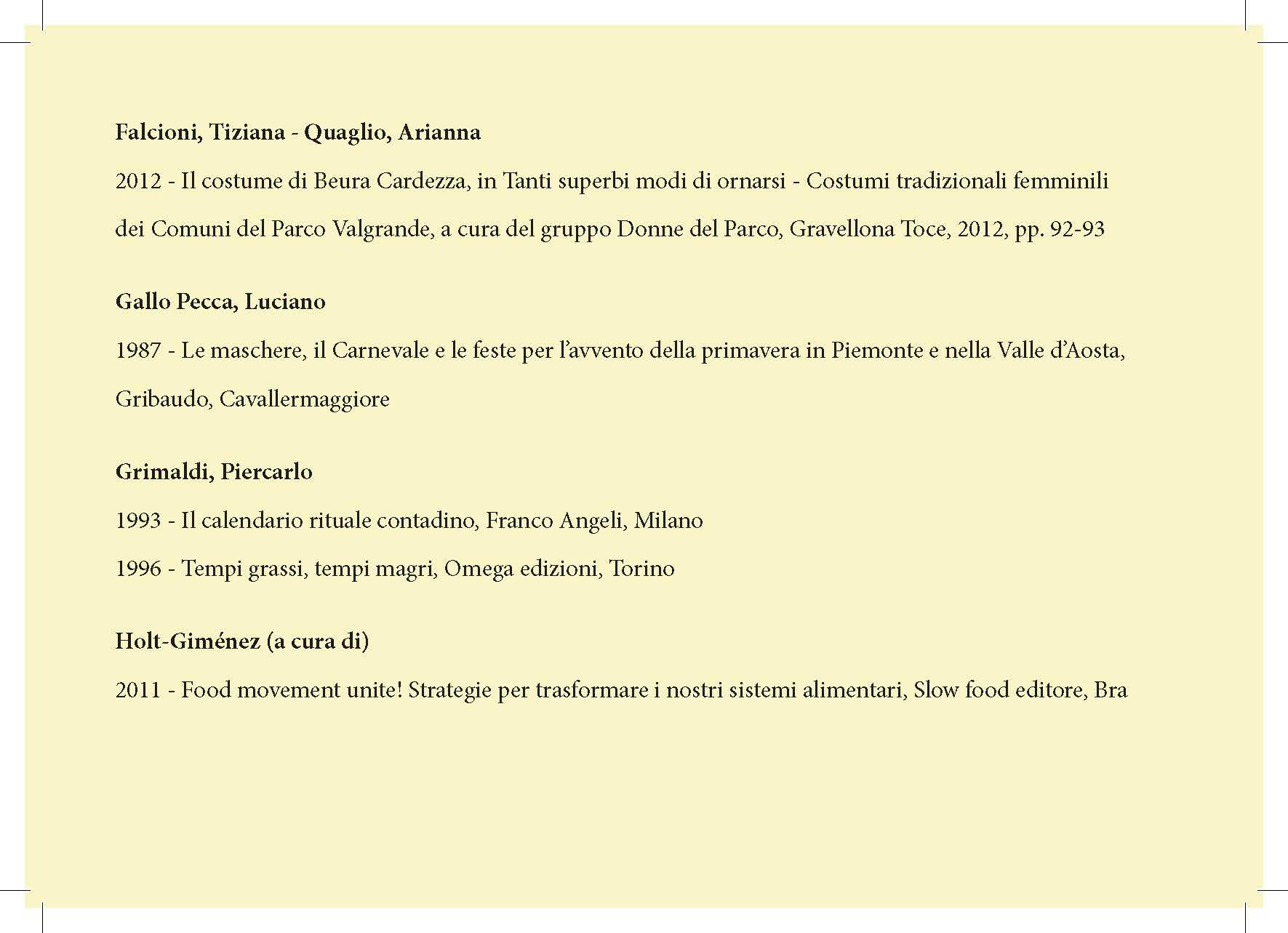 "Arte Del Rustico Aosta pamphlet ""la polenta di beura"" - beura cardezza on behance"