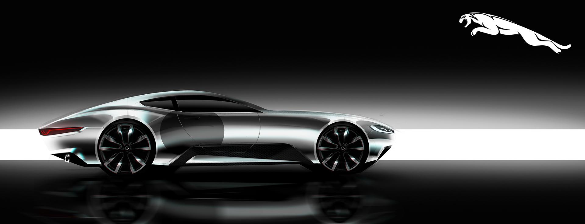 Jaguar Coupe Concept on Behance