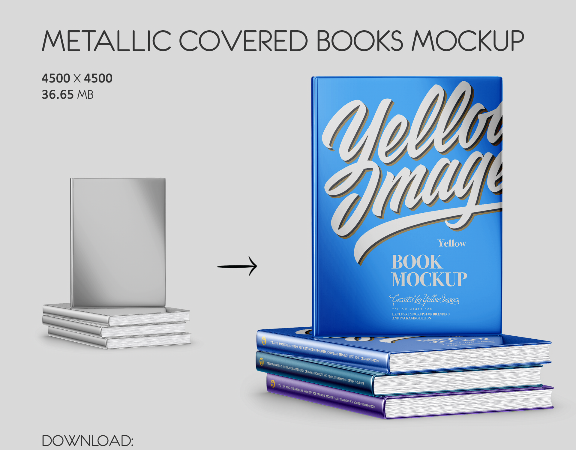 Download Book Mockups On Behance PSD Mockup Templates