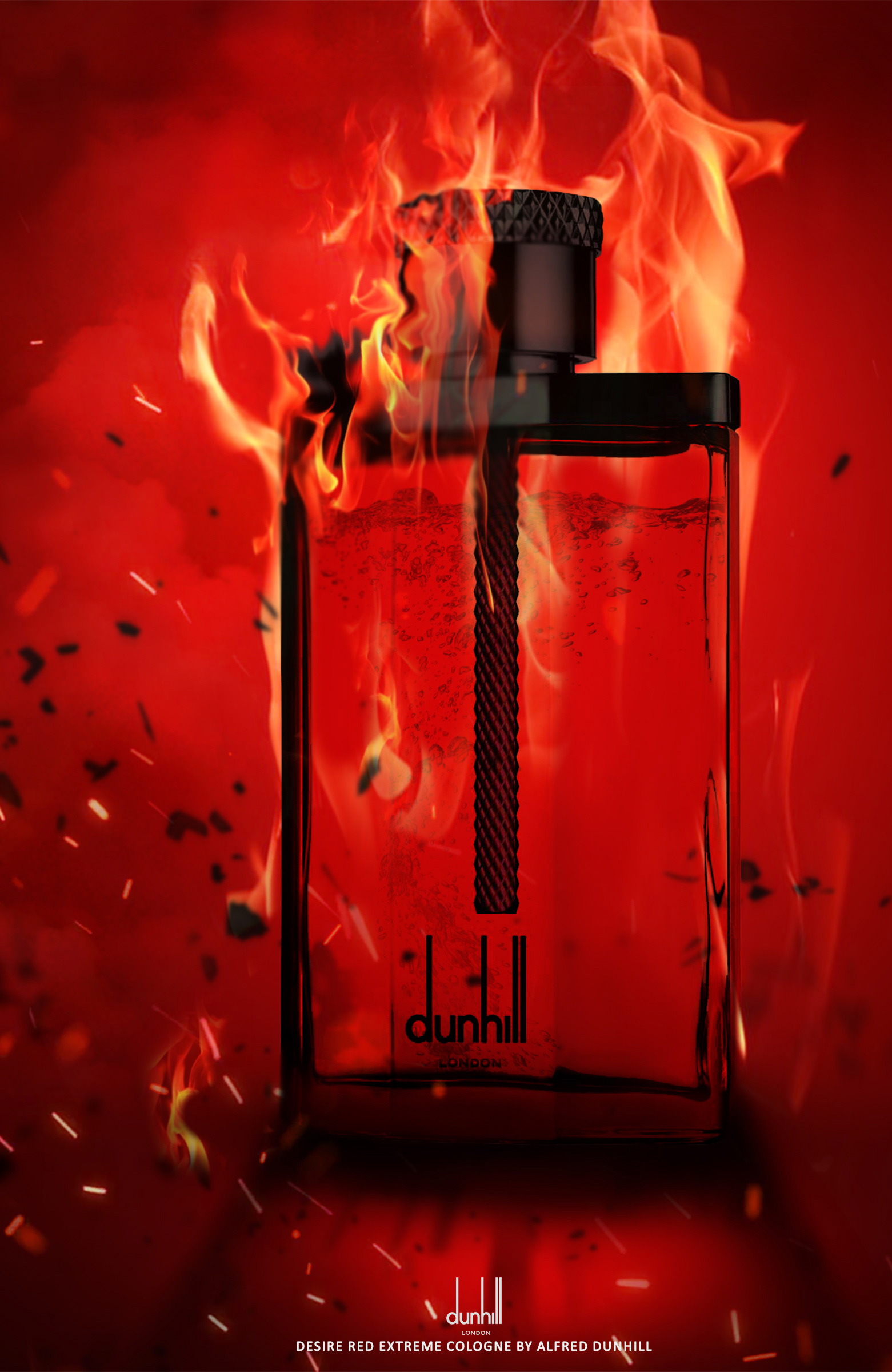 Dunhill perfumes on Behance