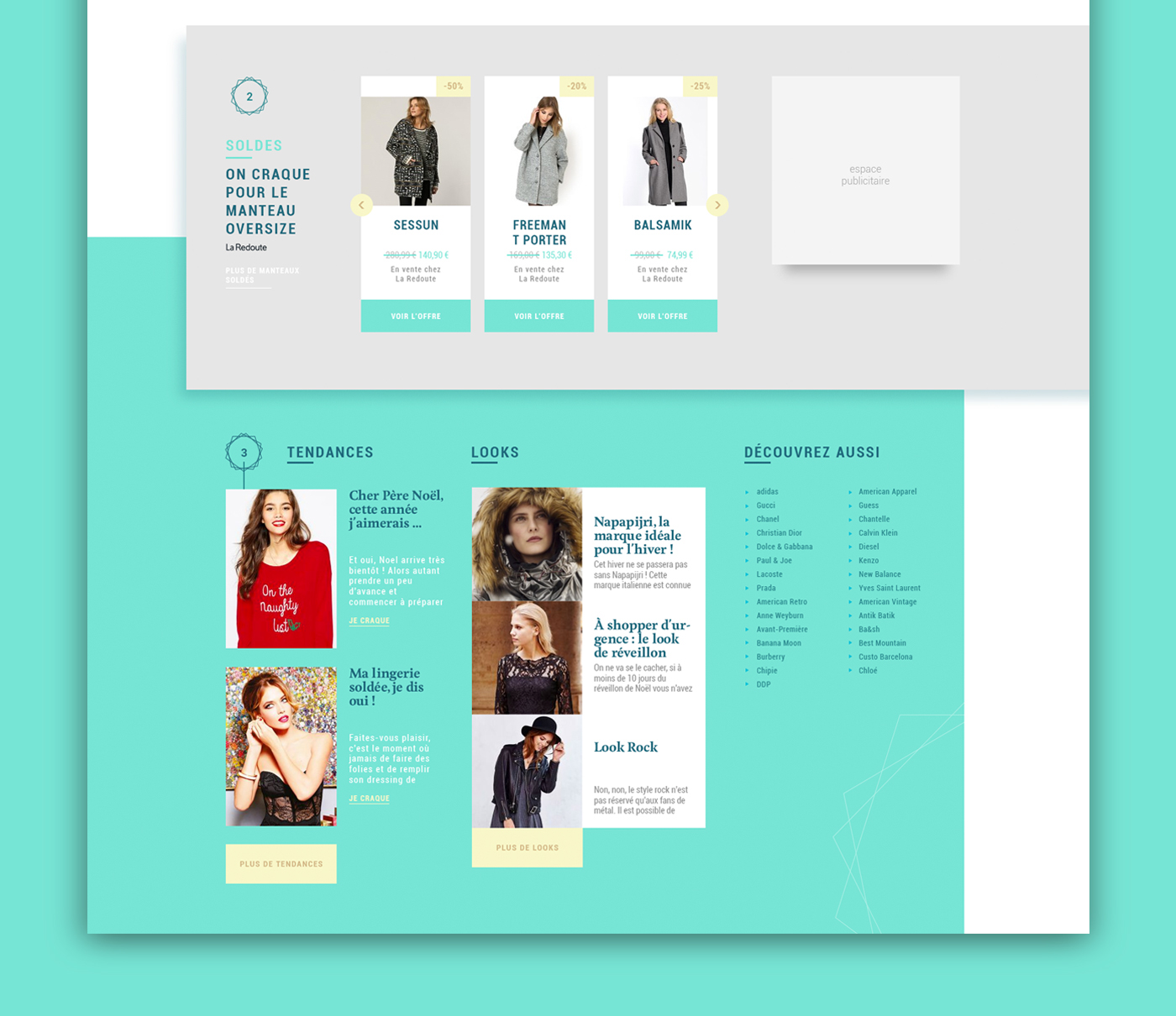 Pureshopping Redesign On Behance