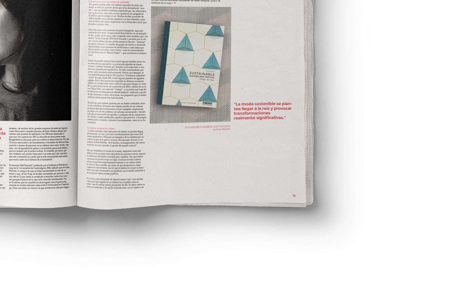 Leaf Site - Magazine on Behance