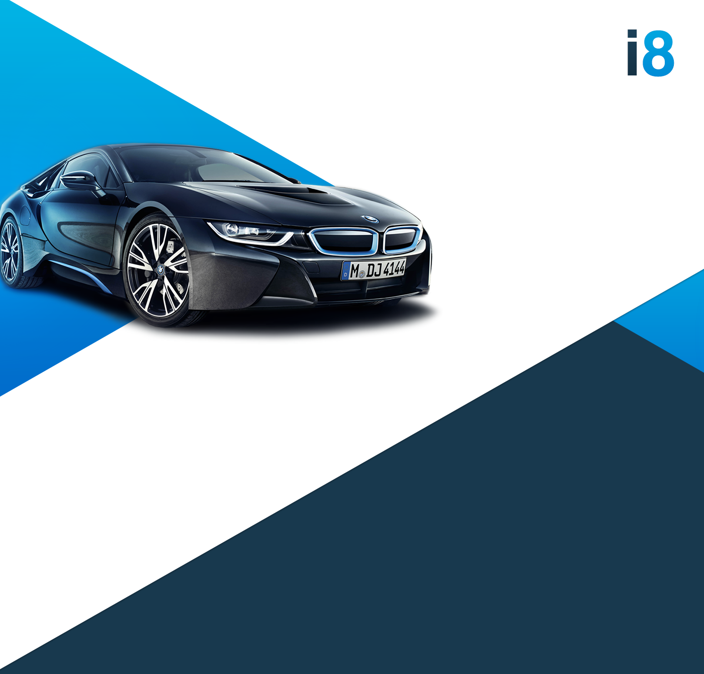 Bmw I8 On Behance