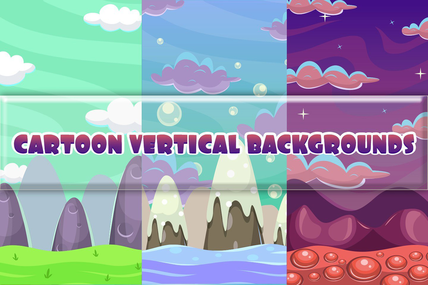 free download cartoon vertical game backgrounds on behance