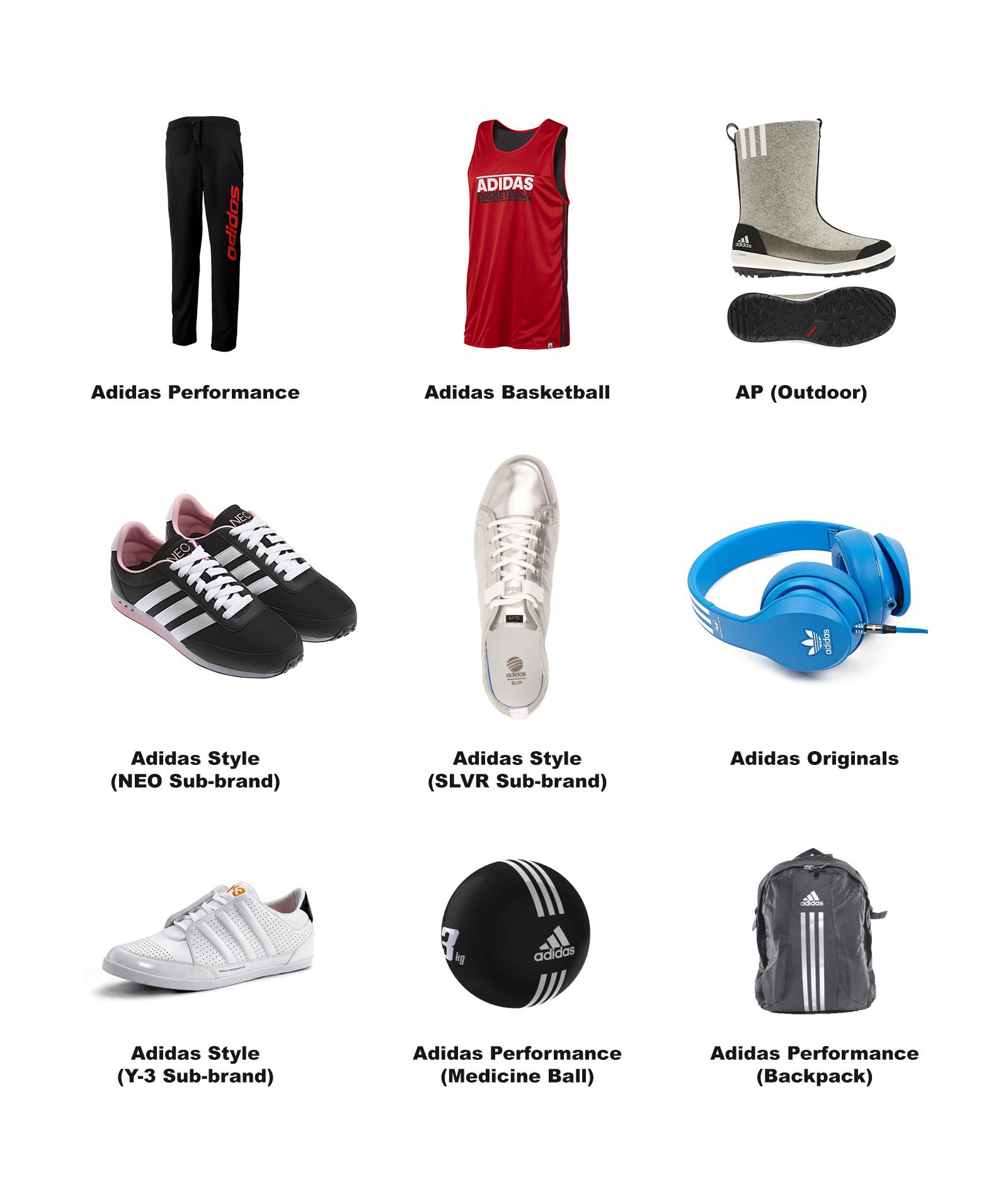 Adidas Brand Design Study on Behance 04895dced158b