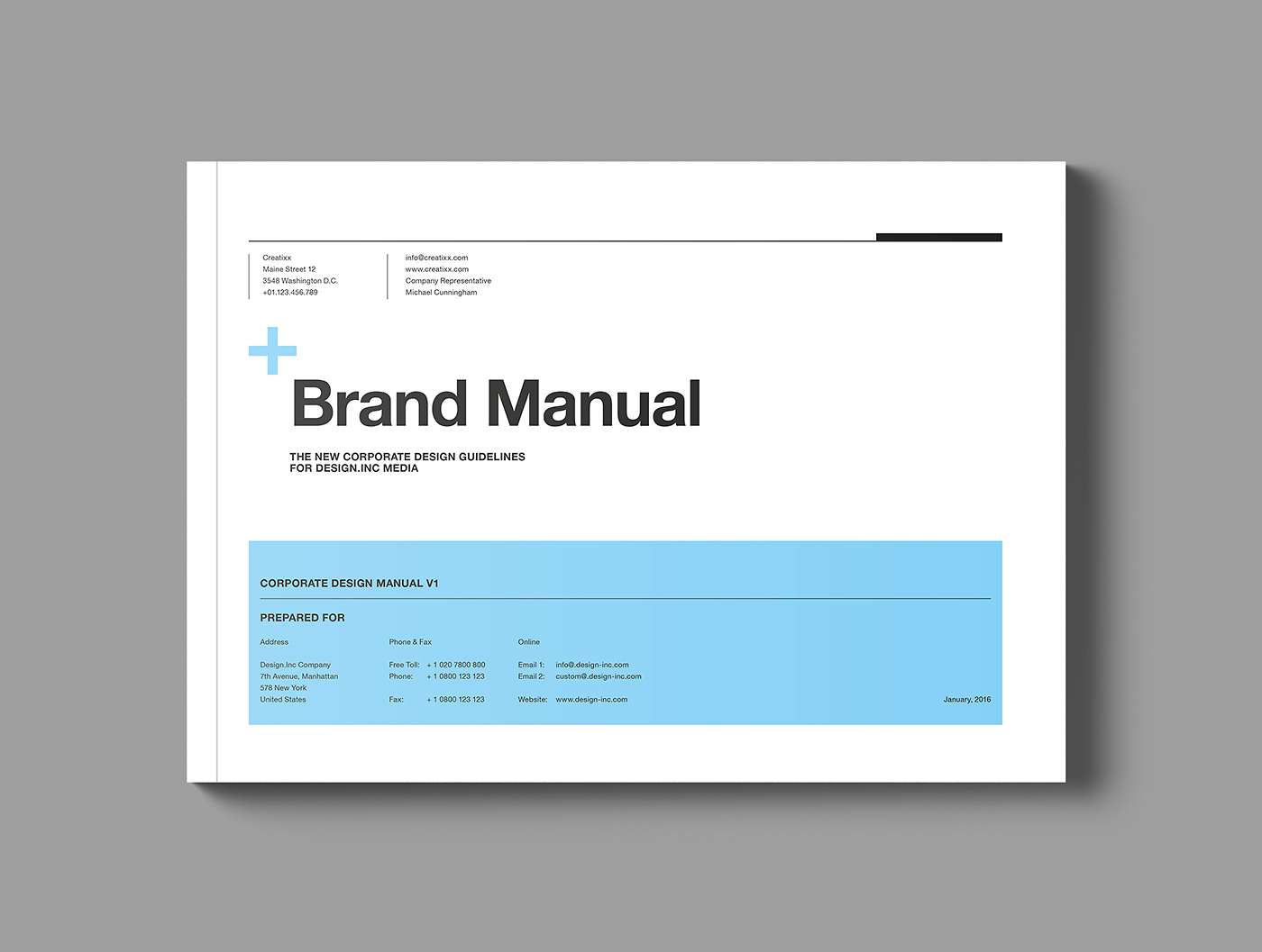 Brand Manual On Behance  Business Manual Templates