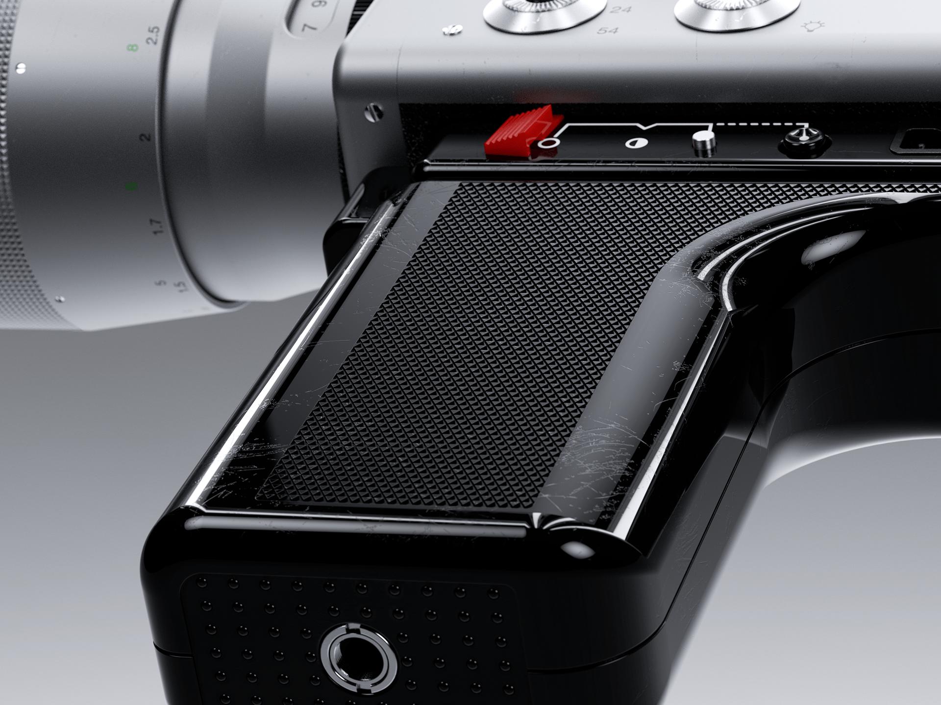 Nizo S 800 Braun Super 8 built-in 3D - Digital Art