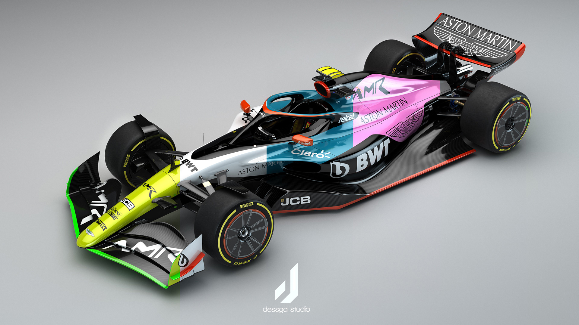 Aston Martin Formula 1 2022 Livery Concept On Behance