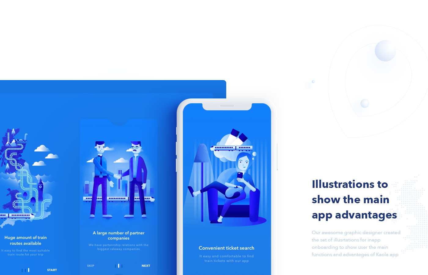 Kaola  IOS app for train tickets booking on Behance