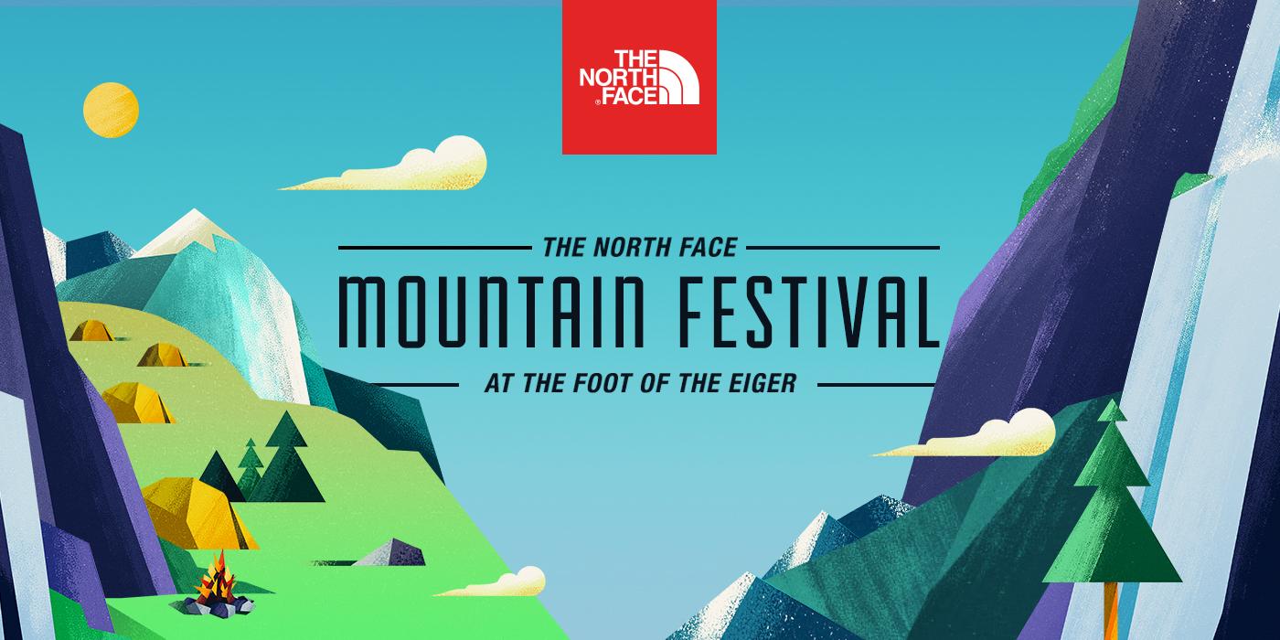 c591dde29e1 The North Face Mountain Festival - Microsite on Behance