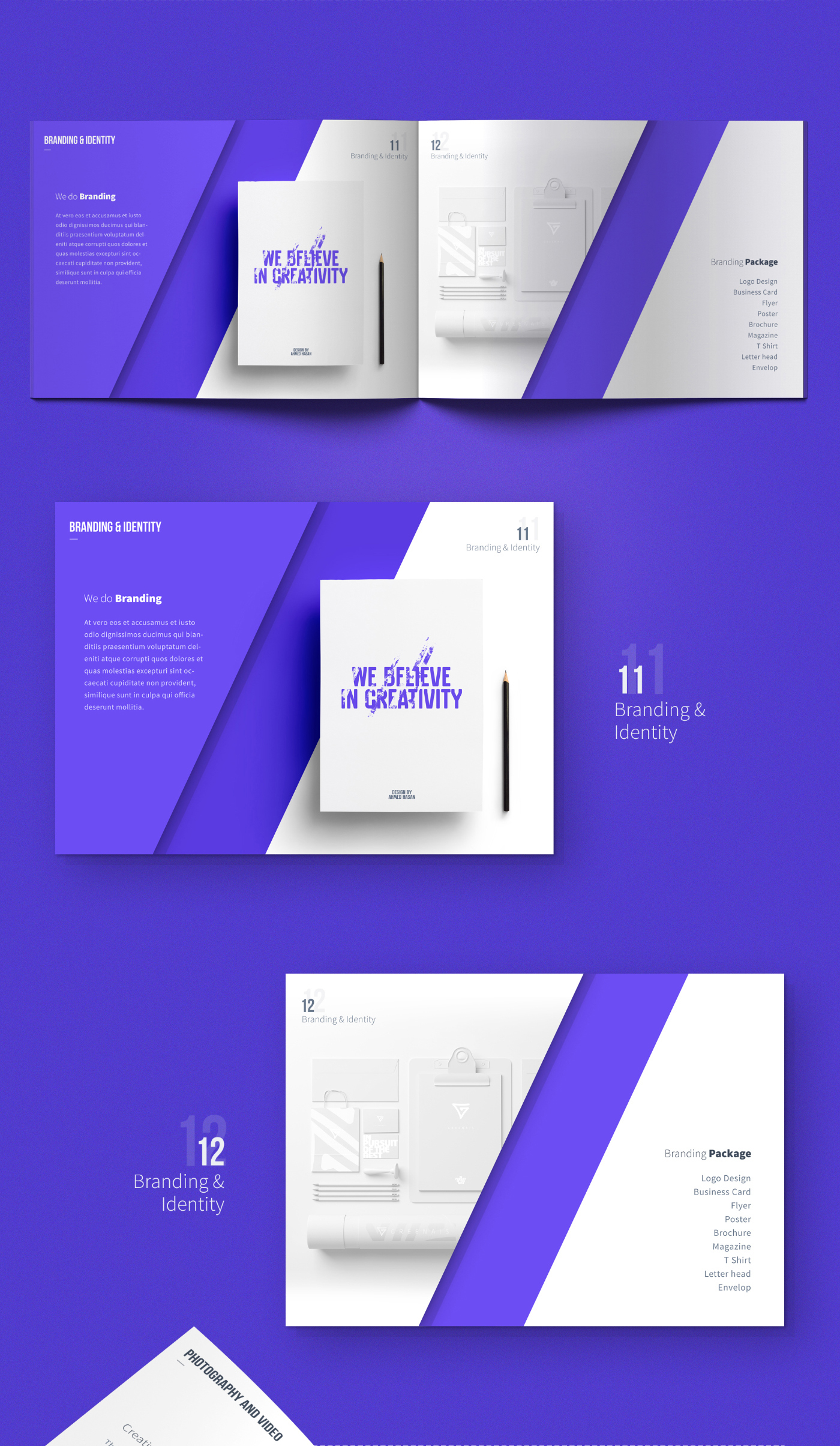 Carsive 18 Pages Brochure Freebie on Behance