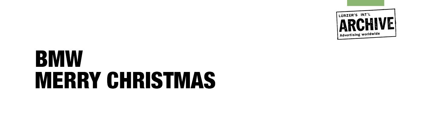 Bmw Merry Christmas On Behance