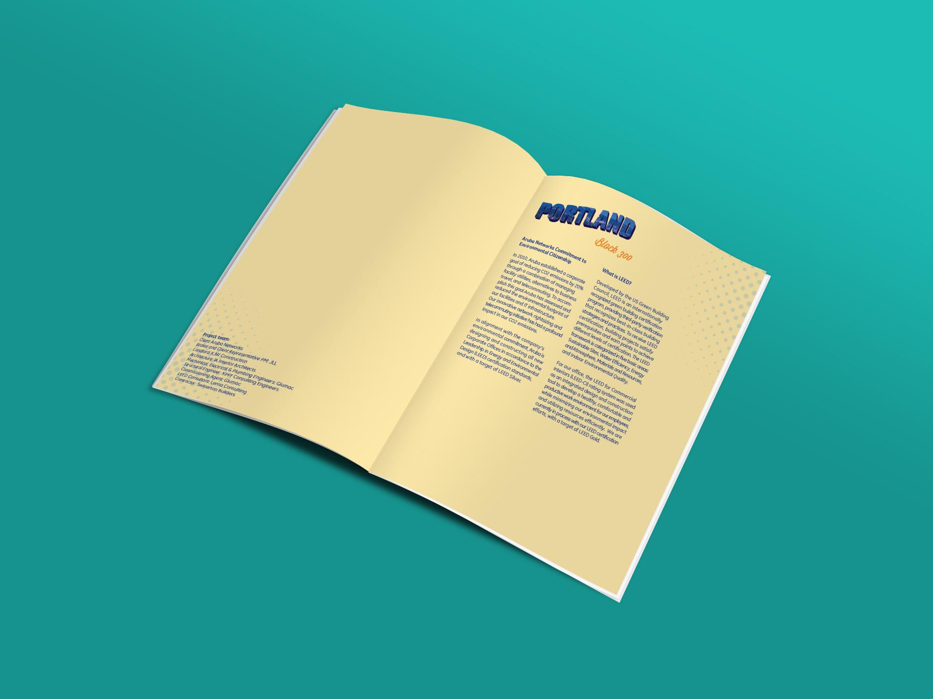 Aruba Networking Leed Brochure On Behance