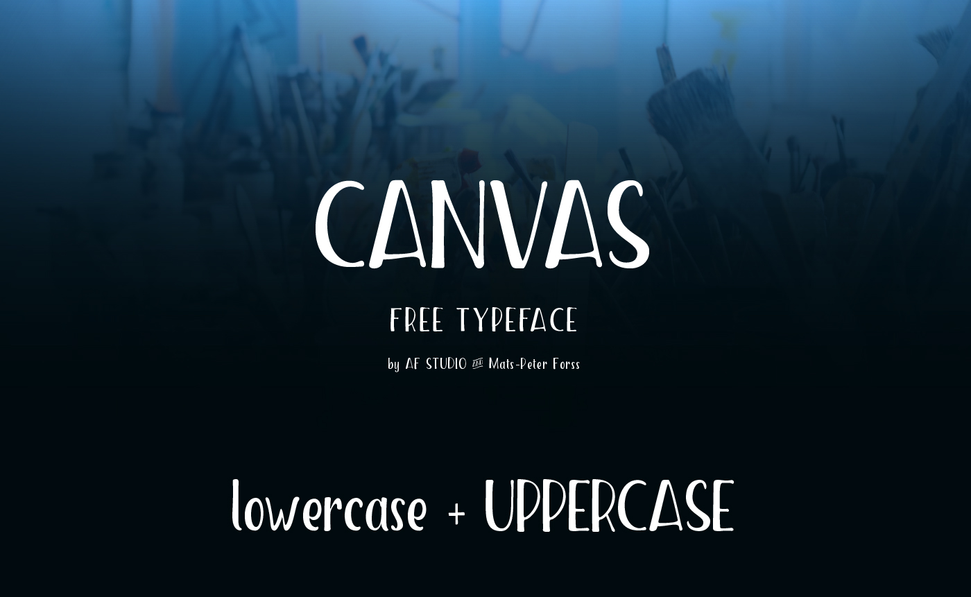 Canvas - Free Font on Behance