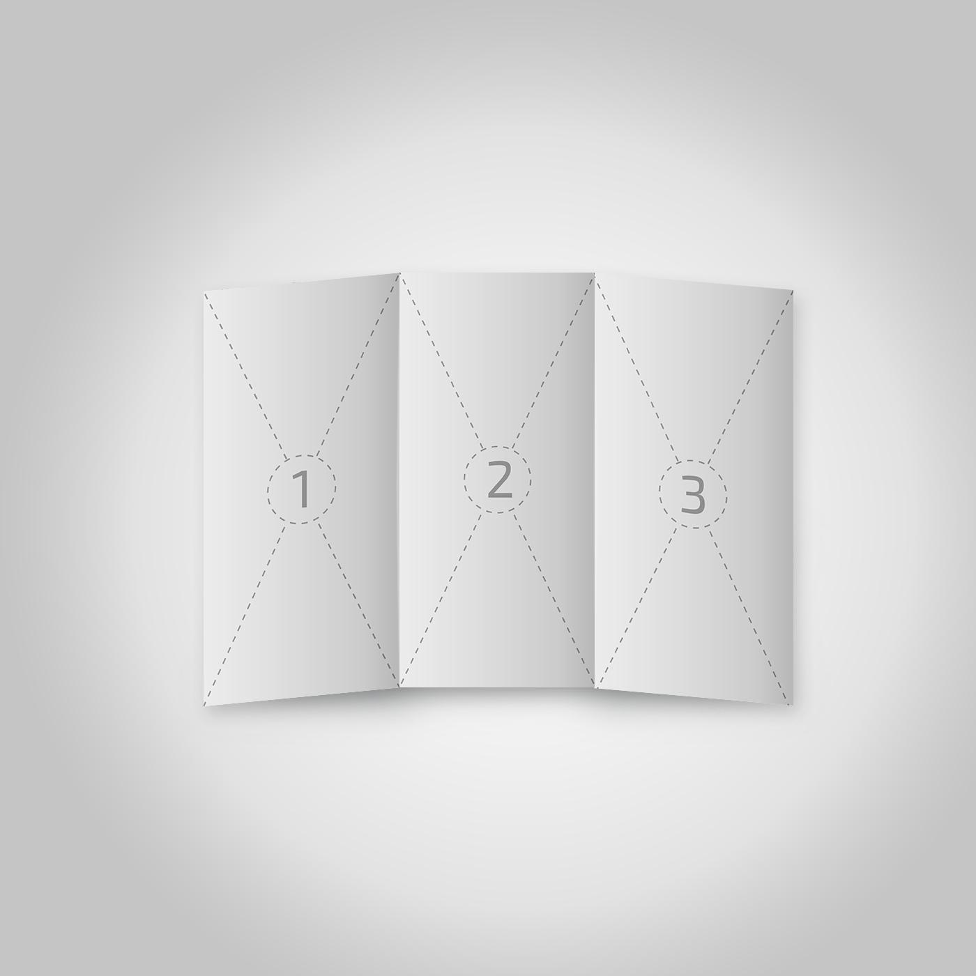 free a4 trifold brochure mockup on behance