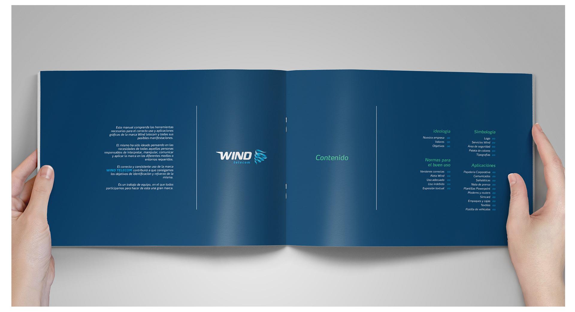 Wind Telecom Rebrand on Behance