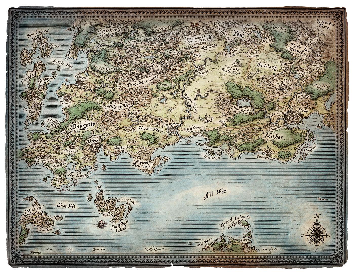 Skullkickers Map