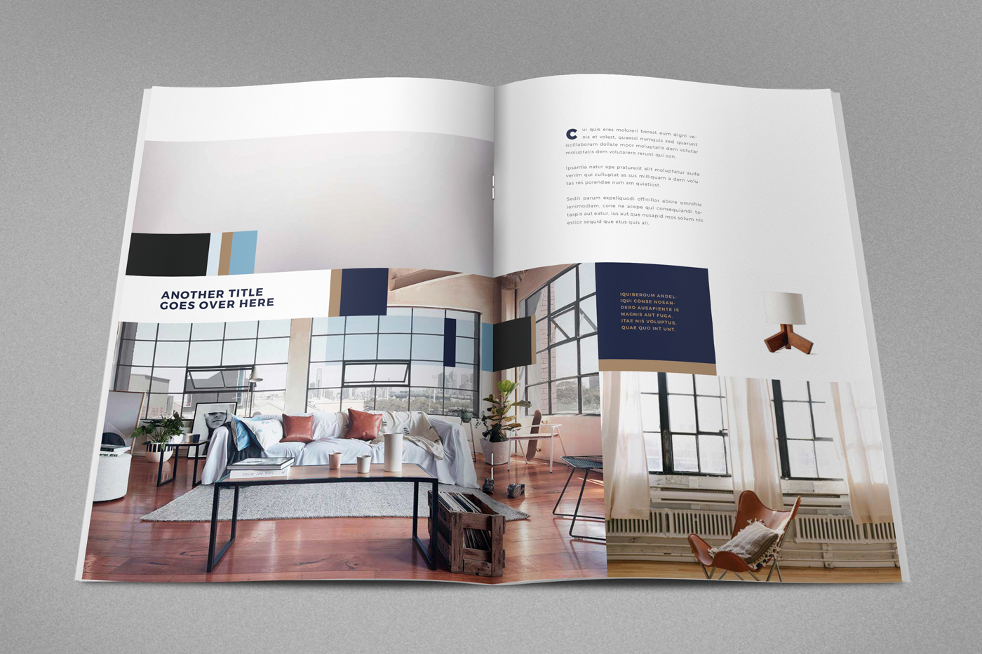 Modern Interior Design Magazine on Behance