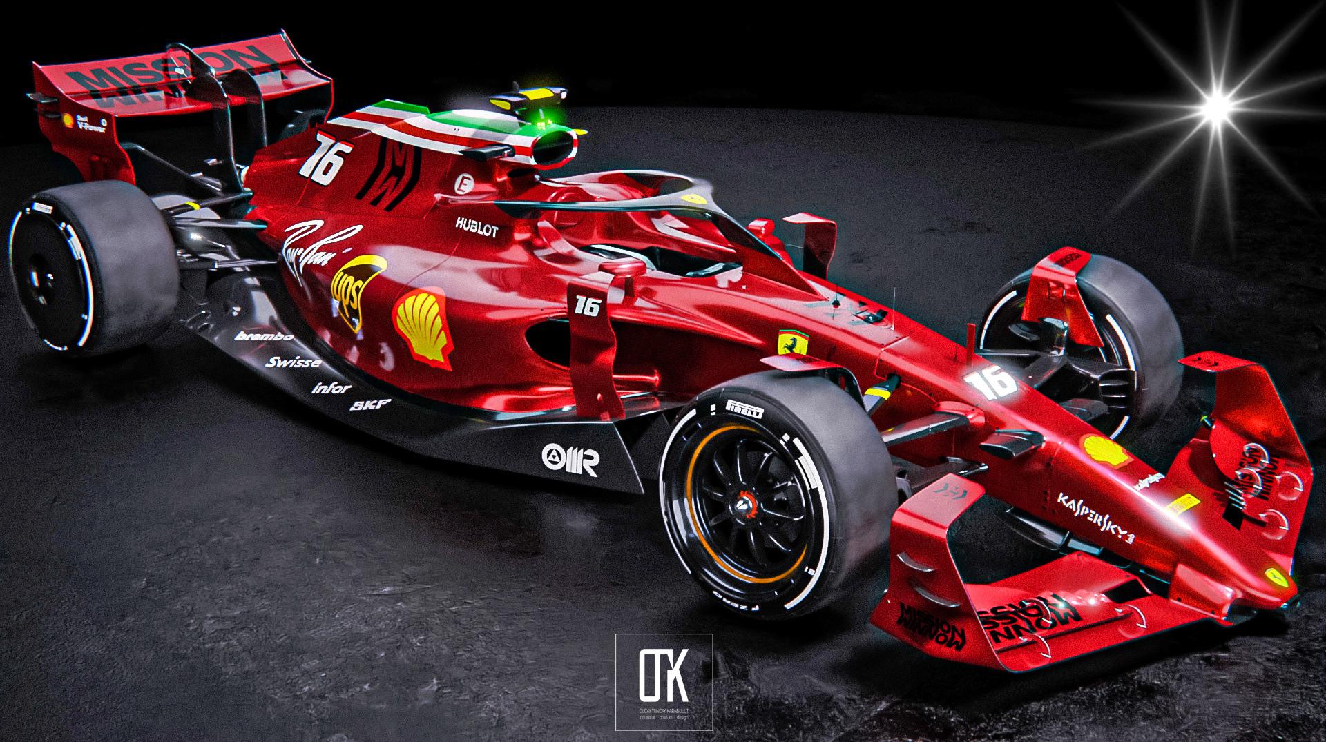 Scuderia Ferrari 2022 Concept on Behance