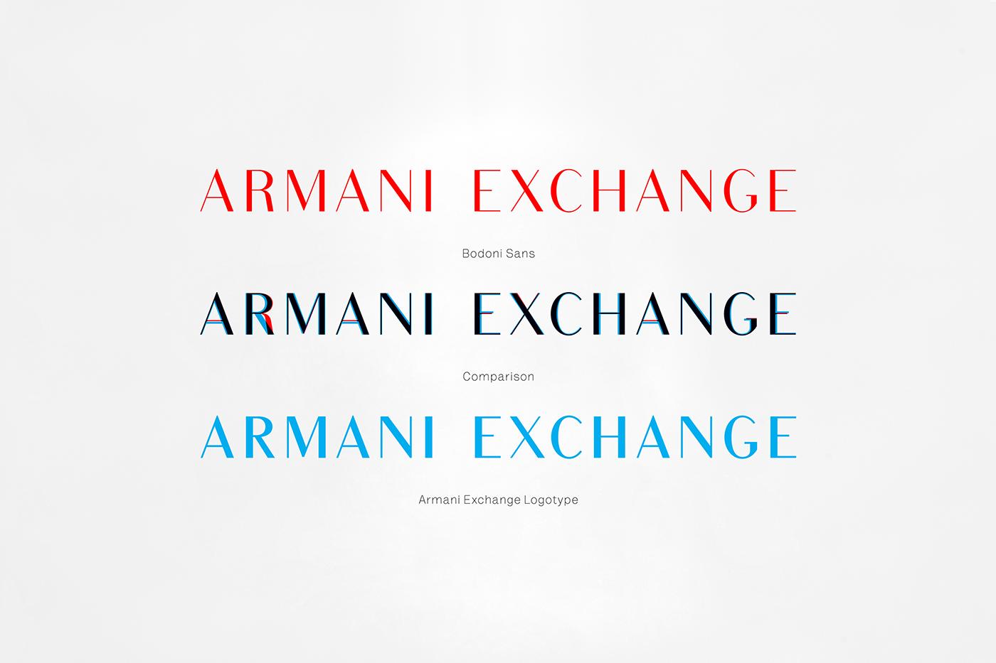 e0f88112e90 Armani Exchange on Behance