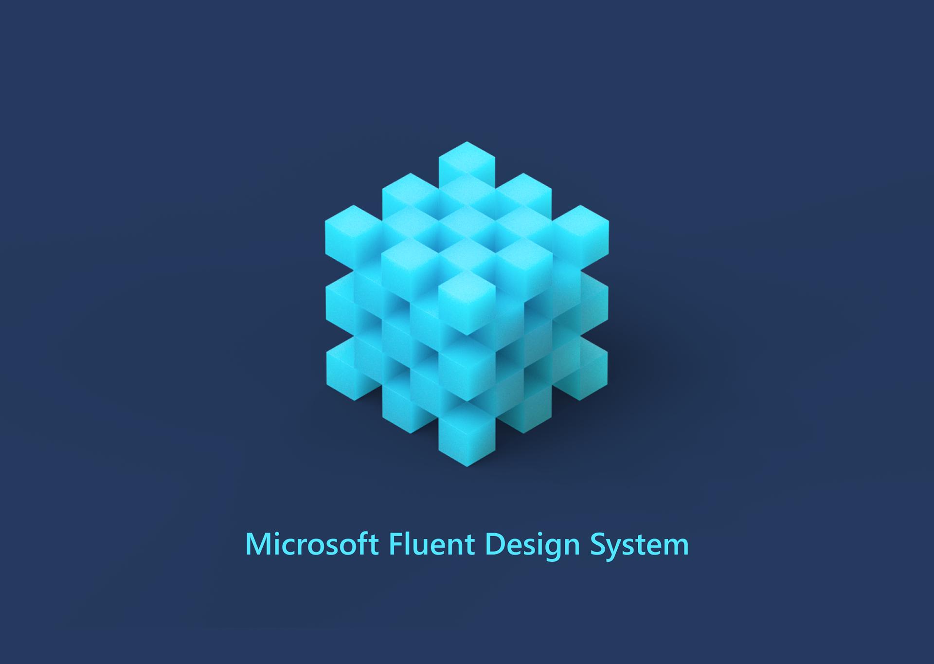 Microsoft Fluent Design System On Behance