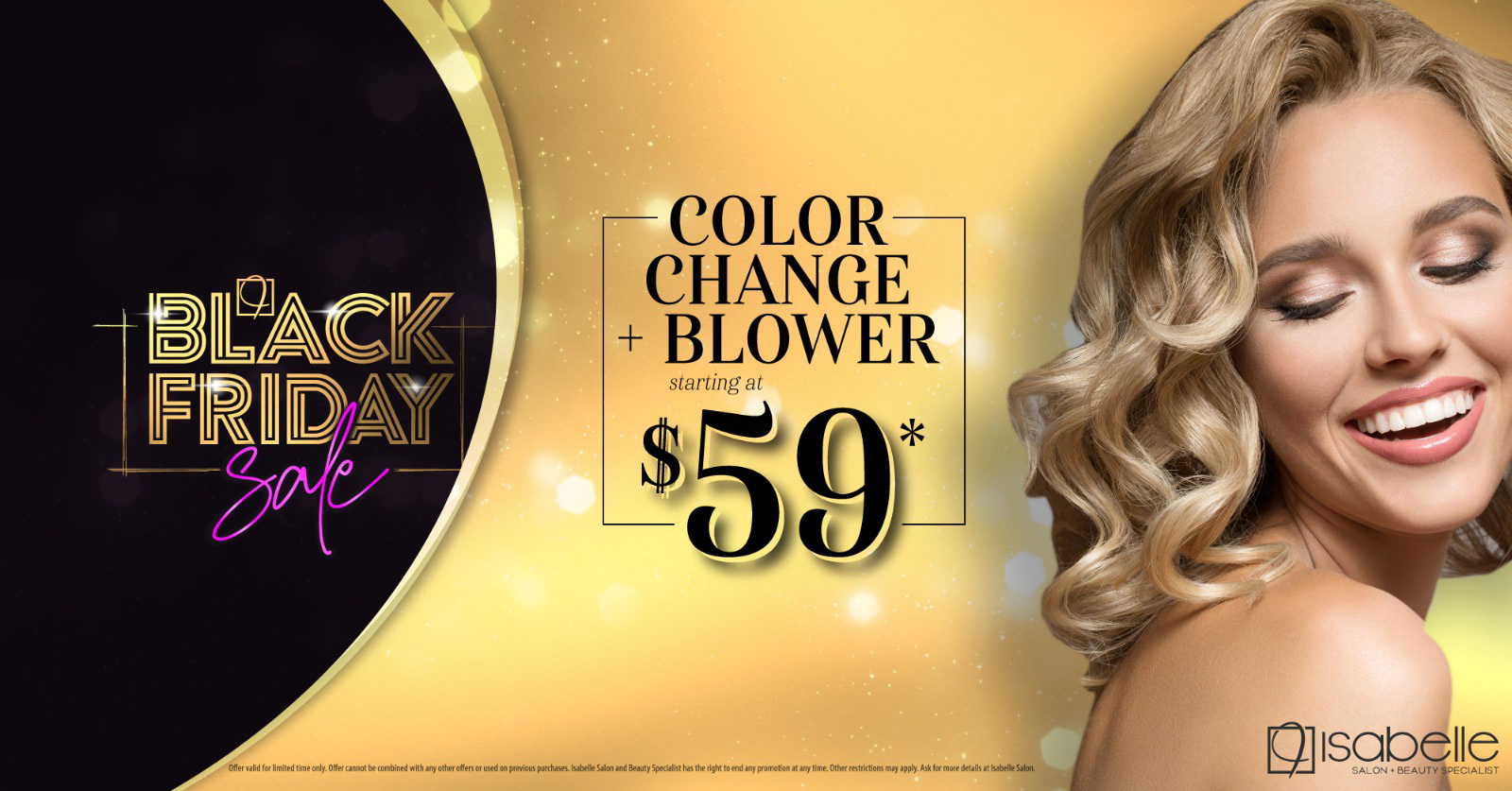 Beauty Salon Black Friday Campaign On Behance