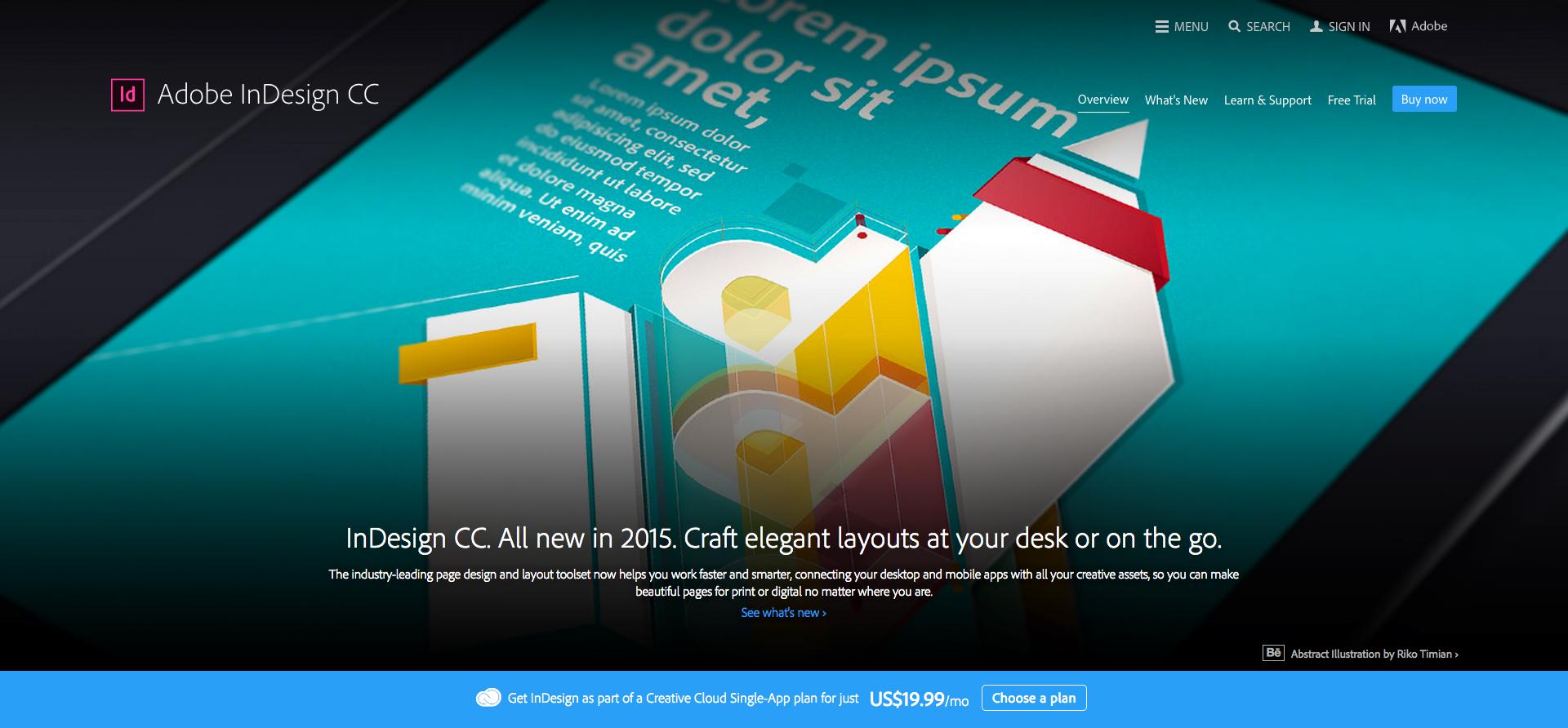 Adobe InDesign CC 2015 Artwork on Behance