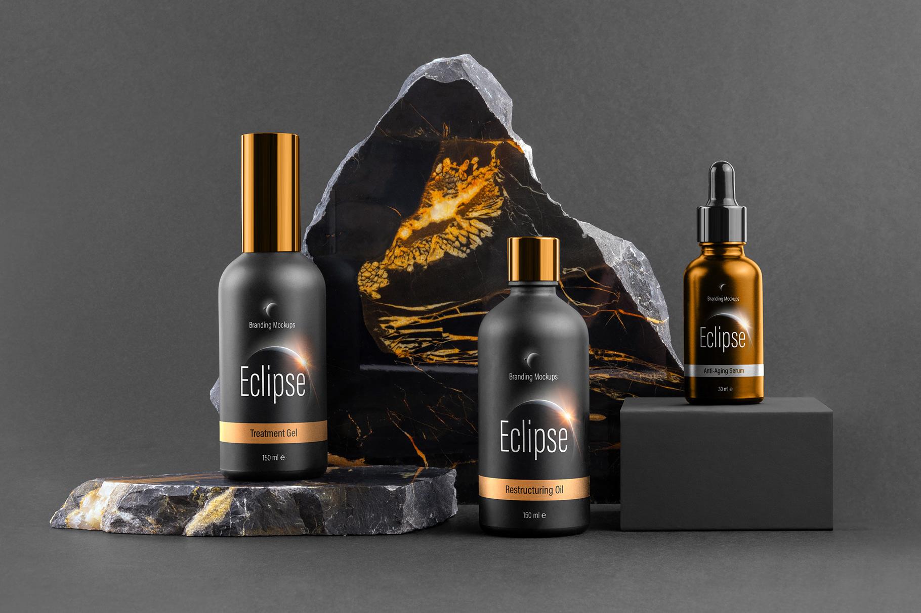 Eclipse – Cosmetics Branding Mockups on Behance