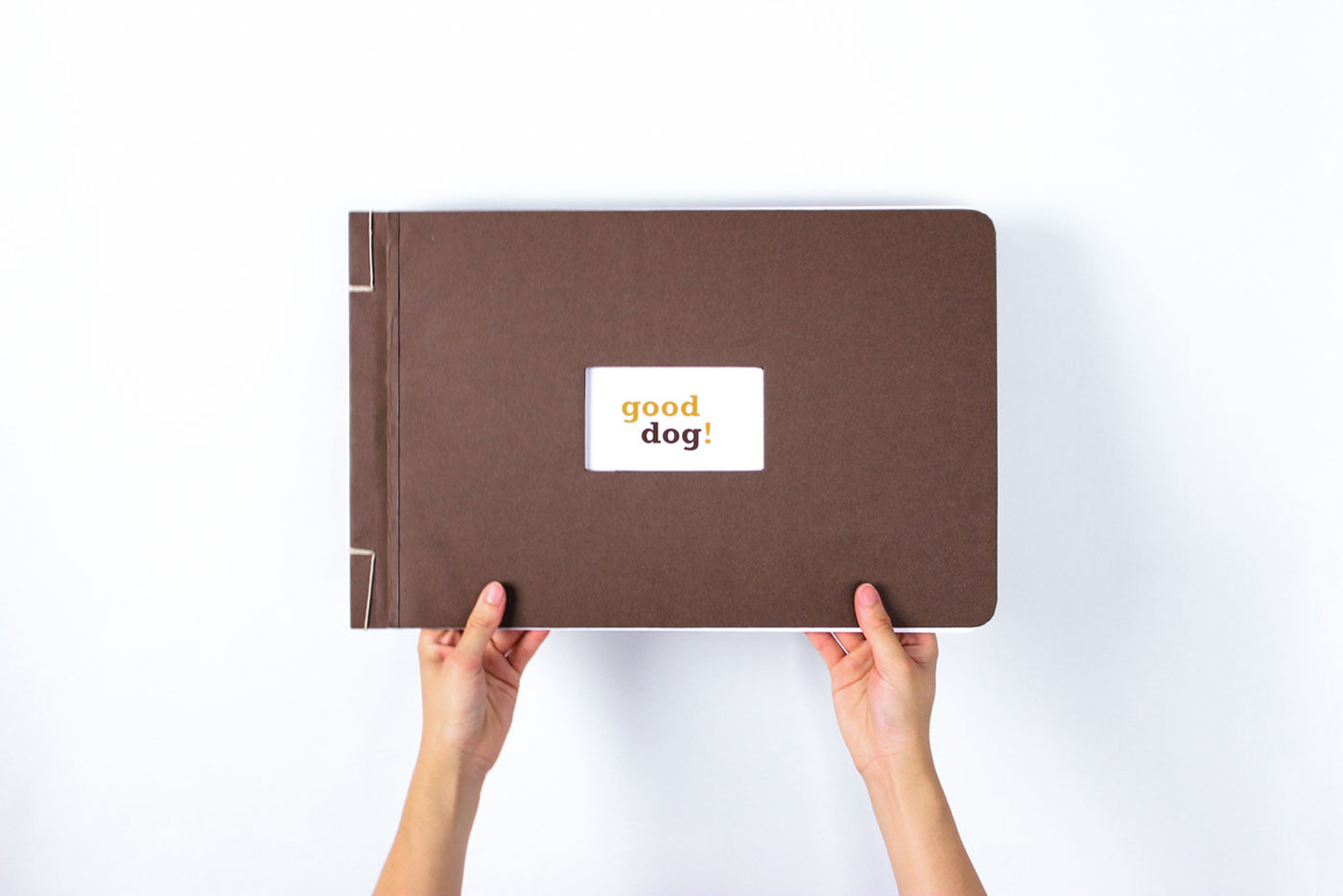 good dog brand book on behance