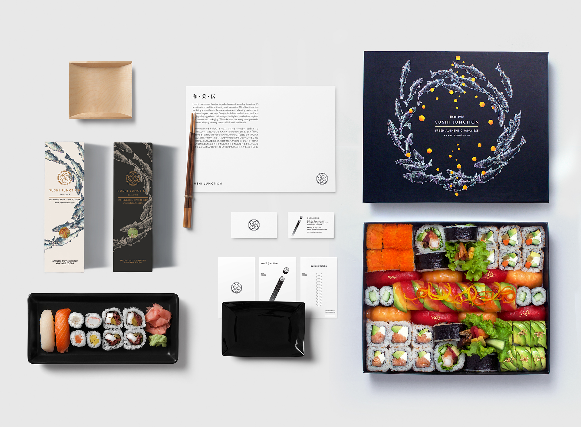 Branding for Sushi Junction by Lee Ching Tat