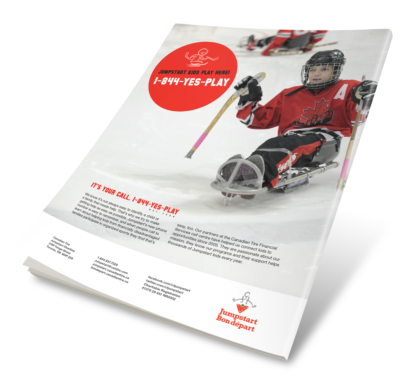 Canadian Tire Jumpstart Annual Report on Behance